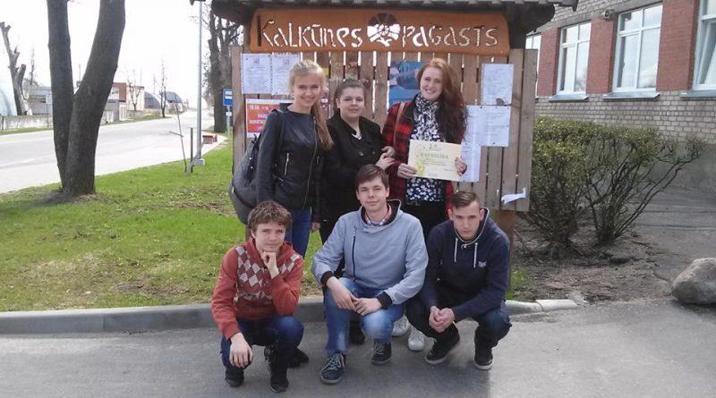 Maļinovas pagasta jauniešu dalība Daugavpils novada jaunatnes intelektuālajās spēles 2016.gadā