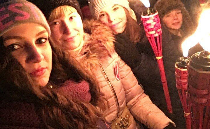 Maļinovas pagasta jauniešu patriotiskais novembra mēnesis