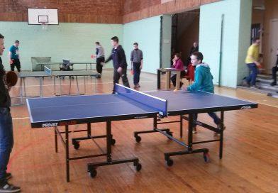 """Maļinovas pagasta jauniešu dalība pasākumā  """"Bērnu un jauniešu turnīrs galda tenisā"""""""