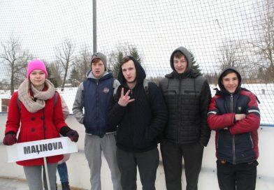 """Jaunieši piedalījās  """"Daugavpils novada jaunatnes 8. ziemas sporta spēlēs"""""""