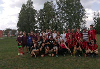 Maļinovas pagasta  atklātais futbola čempionāts jauniešiem